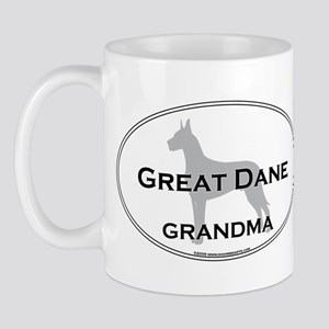Great Dane GRANDMA Mug